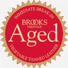 kožená sedla Brooks napuštěná speciálními přírodními oleji