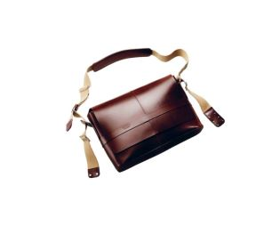 Brooks Barbican Hard Leather - messanger bag