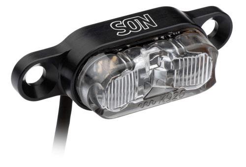 Zadní světlo SON s upevněním na nosič pro elektrokola DC 6-12 V