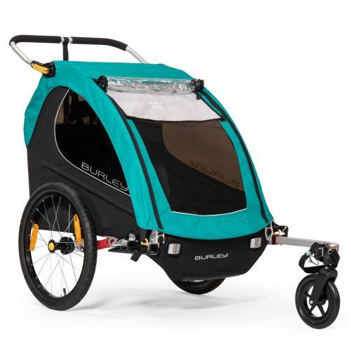 dvoumístný odpružený dětský vozík