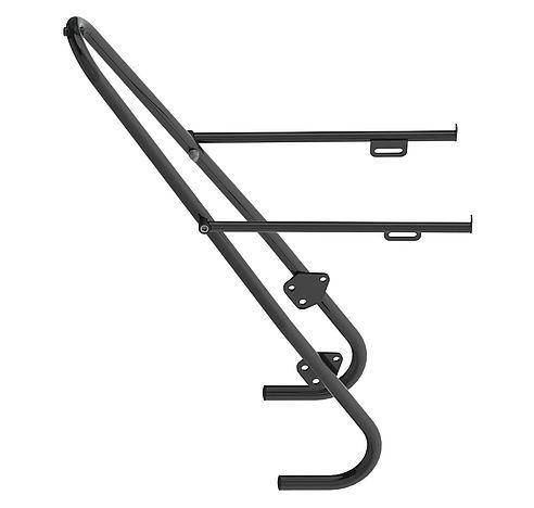 přední ocelový nosič na kolo