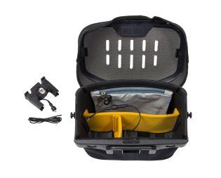 ORTLIEB Ultimate6 M Pro E-voděodolná řidítková brašna s propojovací kabelem-černá-7 litrů