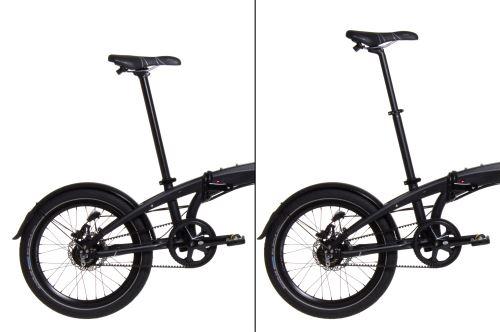 pro vysoké cyklisty případně pro menší velikost kola