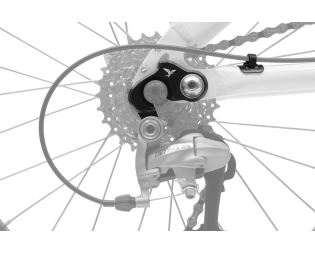 TERN Hák přehazovačky -  adapter černý