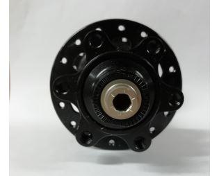 Novatec single speed hub D252SB-BO, black, 36 hole