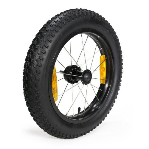Větší kolečka pro vozíky Burley nejen do sněhu a písku.
