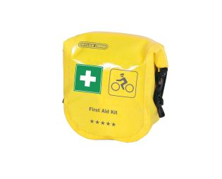 ORTLIEB First-Aid-Kit Safety Level High Cycling - žlutá - Fixing straps - 2 L