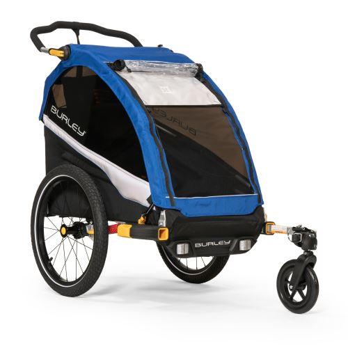 jednomístný odpružený dětský vozík