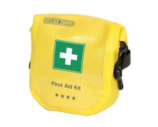 ORTLIEB First-Aid-Kit Safety Level Medium - žlutá - Fixing straps - 1.2 L