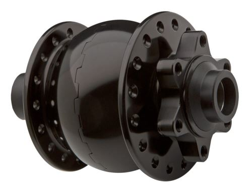 Dynamo v předním náboji na pevnou osu 15mm a diskové brzdy 6 děr